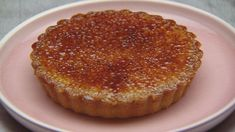 Spiced Orange Brulee Tart with Pistachio and Orange Pate Sablee