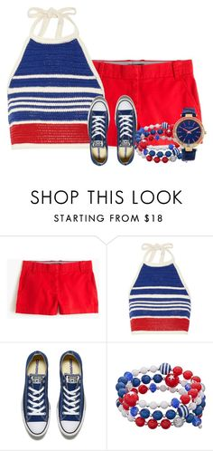 """Sneakers"" by tlb0318 on Polyvore featuring J.Crew, Vika Gazinskaya and Converse"