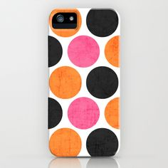party polka dots iPhone & iPod Case by Her Art - $35.00
