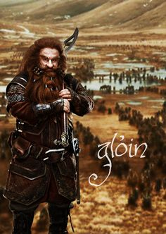 healthy insanity — Gloin the dwarf The Hobbit: The Desolation of Smaug