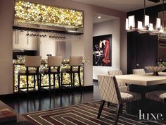 22 Impressive Bar Areas | LuxeDaily - Design Insight from the Editors of Luxe Interiors + Design