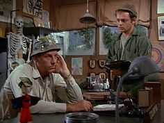 M*A*S*H: Season 2, Episode 7 L.I.P. (Local Indigenous Personnel) (27 Oct. 1973)  McLean Stevenson , Lt. Colonel Henry Blake,   Gary Burghoff , Corporal Walter Eugene Radar O'Reilly