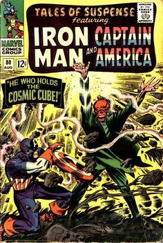 Tales of Suspense #80 The Red Skull holds the Cosmic Cube!!