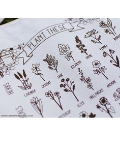 Plant These to Help Save Bees Eco-Friendly Tote by HannahRosengren