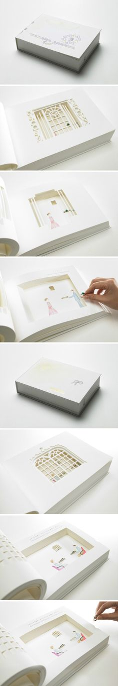 Ingenious wedding proposal packaging PD