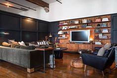 Un loft estilo industrial. | Decorar tu casa es facilisimo.com