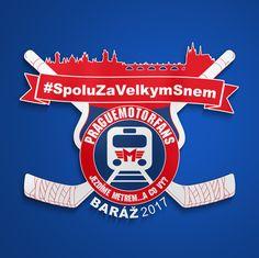 Speciální logo pro Baráž 2017 pro PragueMotorfans