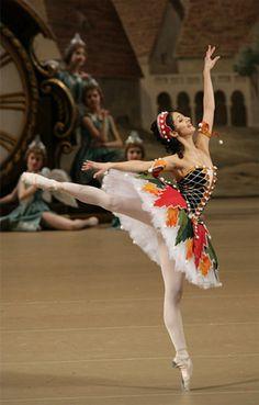 Chinara Alizade - Coppelia Bolshoi Ballet - Fotolog.  - Ballet beautie, sur les pointes !