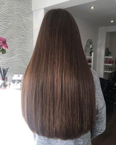 Shop Rabake Hair Brazilian Straight Human Hair 3 Bundles With Closure Brazilian Virgin Hair Straight With Closure Long Dark Hair, Very Long Hair, Beautiful Long Hair, Gorgeous Hair, Silk Base Wig, Waist Length Hair, Natural Hair Styles, Long Hair Styles, Silky Hair