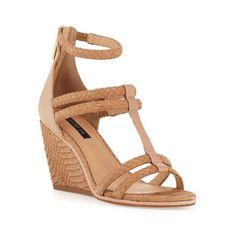 Shop It Now: 20 Perfect Summer Wedge Sandals - - Shop Now: 20 Summer Wedge Sandals Source by stylecaster Dream Shoes, Crazy Shoes, Keds, Wedge Sandals, Wedge Shoes, Shoes Heels, Cute Shoes, Me Too Shoes, Jordan Shoes