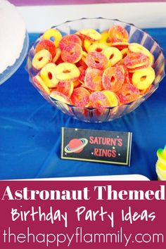 Astronaut themed birthday party. Astronaut themed birthday party games. Astronaut themed birthday party food. Outer space birthday party ideas. Outer space birthday party games. Outer space birthday cake ideas. Outer space birthday party food ideas. The best astronaut themed birthday party ideas. Astronaut birthday decor. Outer space party decor. #astronaut #birthday #party #food #games #outerspace #decor Outer Space Party, Birthday Party Games, Astronaut, Birthday Decorations, Party Themes, Creative, Anniversary Party Games, Party Outdoor