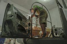 Conhecemos alguns dos caras que fazem e tocam as máquinas de som do Pará.