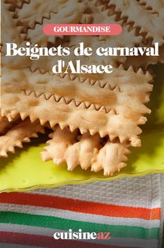 La recette facile des traditionnels beignets de carnaval alsacien. #recette#cuisine#alsace#patisserie #carnaval #mardigras #beignet Mardi Gras, Beignets, Alsace, Bread, Food, Food Porn, Recipes, Carnival, Brot