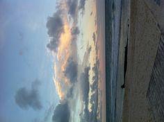 Playa del Carmen en miércoles por la tarde.
