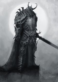 lazy knight by *yigitkoroglu on deviantART