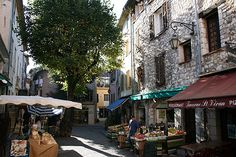 Vence is a commune in the Provence-Alpes-Côte d'Azur region in southeastern France between Nice and Antibes.