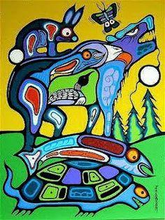 MARK ANTHONY JACOBSON CATALOGUE RAISONNÉ: Summer Solstice Canadian Art, Canadian Culture, Cultural Crafts, Woodland Art, Haida Art, Native American Artists, Wow Art, Indigenous Art, Aboriginal Art