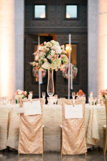 Classic Blush + Peach Ohio Statehouse Wedding | Photos