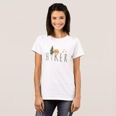 Hiker T-Shirt -nature diy customize sprecial design