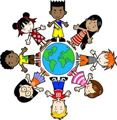 I think this would be a fun bulletin board idea. Have a large globe in the middle of the bulletin board and put pictures of where each student is from (or what nationality they are). To make it more personal, ask the students to bring in a picture of a culture, tradition, costume, etc. of something that is specific to where they are from (or something that is specific  to their nationality).    Also, if students are more than one ethnicity, use string to connect the places.  *Uploaded by Me*