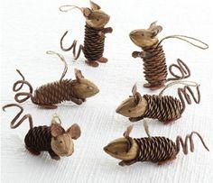 Ореховые мышки: идеи и мастер-классы. Обсуждение на LiveInternet - Российский Сервис Онлайн-Дневников