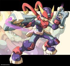 Megaman Model A by ultimatemaverickx on deviantART