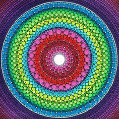 Mandala of Inner Peace by Elspeth McLean.