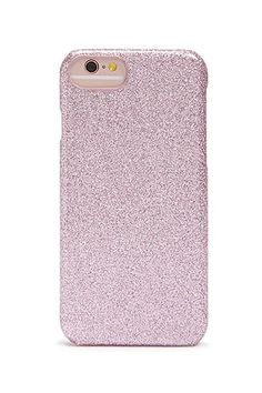 sale retailer fc8a1 7f570 Metallic Glitter Case for iPhone 66s7 Pink Sparkly, F21, Iphone