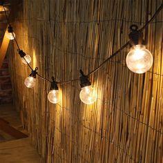 String Lights, Ceiling Lights, Festoon Lights, Garden Room Extensions, Outdoor Gardens, Light Bulb, Patio, Warm, Led