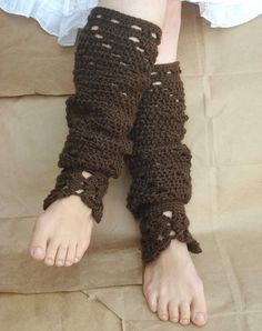 Crochet Leg Warmers...LOVE!