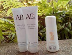 Nu Skin AP-24 Authentic Original Whitening 2Toothpaste 4oz 110g + 1 Roll On  #NUSKIN