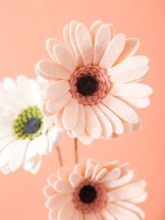 How To Make The Most Gorgeous, Gerber Daisies Out Of Felt!