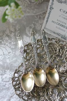 Southern belles can never have too much old silver,,,