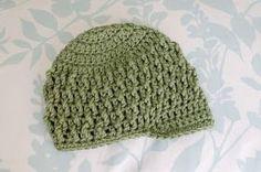 Alli Crafts: Free Pattern: Deeply Textured Hat - 3 months