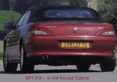 406 Coupé Cabrio prototype