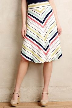 Maeve Springstripe Skirt #anthroregistry