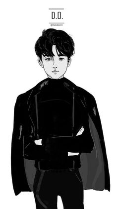 Immagine di exo, d.o, and fanart