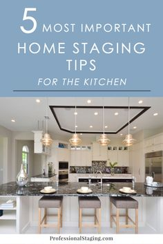 The kitchen is one of the biggest selling points or deal breakers for home buyers. These easy home staging tips will make sure your kitchen…