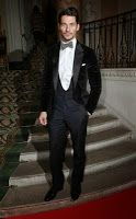 David Gandy Atttends The Scottish Fashion Awards 2013 ~ David James Gandy