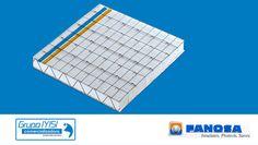 Construpanel FANOSA es un panel constructivo modular formado por tiras de poliestireno y alambre de acero negro pulido en forma de malla reticular y zig-zag, el cual se recubre con mortero o concreto en ambas caras, para obtener un elemento rígido y ligero de gran capacidad estructural y alta resistencia térmica, además de que cumple con la Norma Mexicana NMX-C-405-1997-ONNCCE, de páneles para uso estructural en muros y techos.