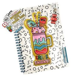 #NPW #Freakshake #notebook with #pencil case #10234613 #32 #Advantage card #points. FREE #Delivery on #orders over 45 GBP. #(Barcode #EAN=5037200053005)