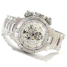 Invicta Mens Subaqua Noma V COSC Swiss Made Quartz Chronograph Stainless Steel Bracelet Watch