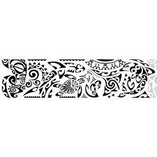 Resultado de imagem para tattoo maori na perna colorida