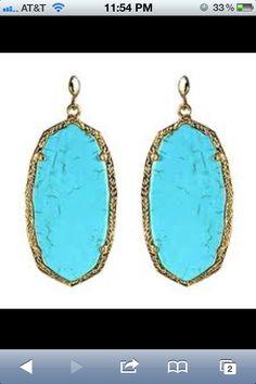 Kendra Scott  Danielle Earring Turquoise