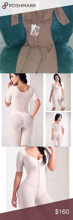 Bodyshaper New with tags - this body shapers is the only one of its kind designed to give the booty a lift, control hips, make you automatically lose 4 inches, help you reshape and give your body the hour glass figure you have been looking for! Dresses