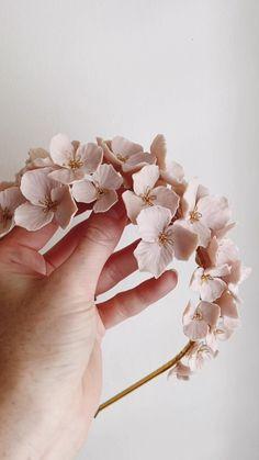 Floral Headpiece, Floral Headband Wedding, Bridal Hair Accessories, Bohemian Hair Accessories, Hair Jewelry, Beaded Jewelry, Hair Beads, Floral Hair, Bride Hairstyles