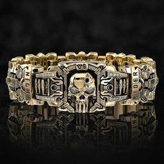 Jewelry Gifts, Jewelery, Jewelry Accessories, Fashion Accessories, Fashion Rings, Fashion Jewelry, Women Jewelry, Mens Ring Designs, Gold Skull