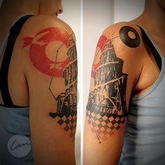#tattoofriday - Lan Pravda, Brasil.