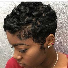 Black Short Hairstyles Prepossessing 39 Everyday Short Hairstyles For Black Women  Pinterest  Short