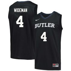 a53248048ec Men  4 Tyler Wideman Butler Bulldogs College Basketball Jerseys Sale-Navy  Blue